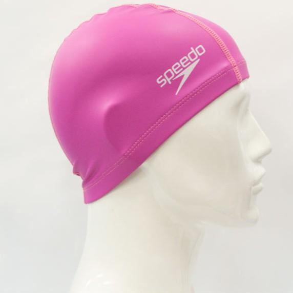 憲憲之家 SPEEDO 成人合成泳帽 SD8720641341 (粉紅)