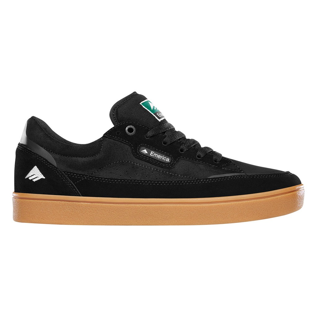EMERICA GAMMA BLACK SHOES 滑板鞋【BAMBOOtique】