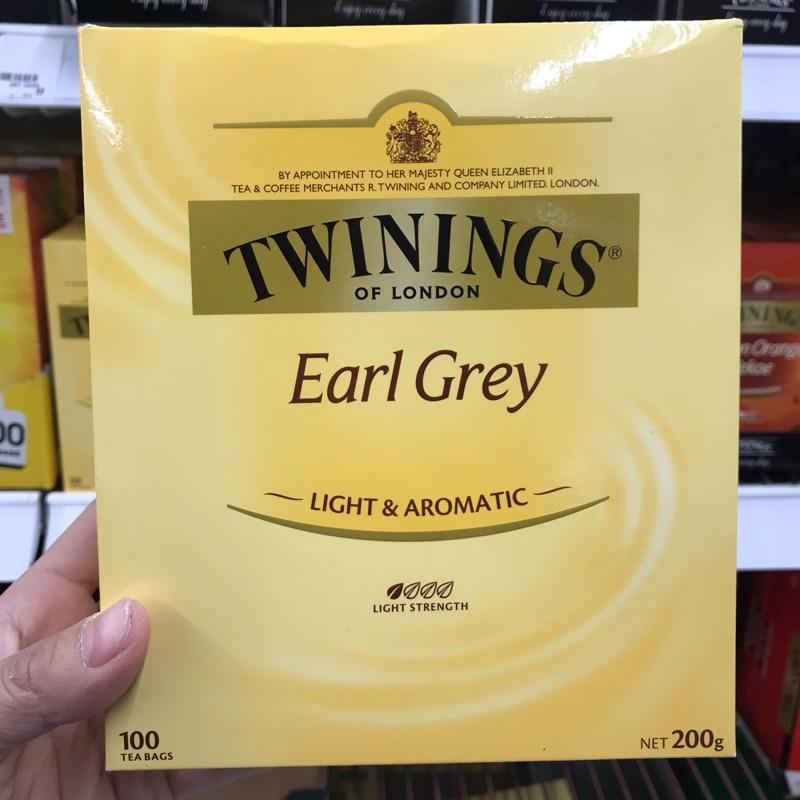 (特賣)澳洲 唐寧Twinings 伯爵茶 100包