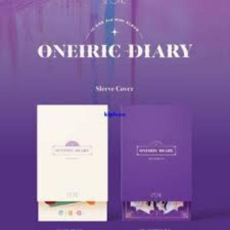IZ*ONE 空專 IZ*ONE 專輯 迷你三輯 幻想日記 團體封 Oneiric Dairy