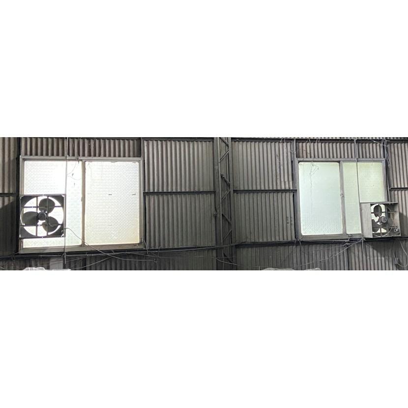 二手  風機  工業排風機  通風機  工業用排風扇  散熱扇  50x50x23cm  (自取)