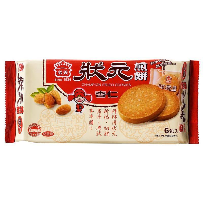 義美狀元煎餅杏仁96g