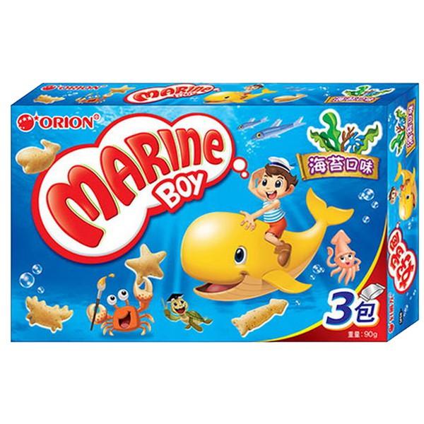 韓國 ORION 好麗友 好多魚餅乾 海苔/烤蝦 口味 90g  / 30g【美日多多】