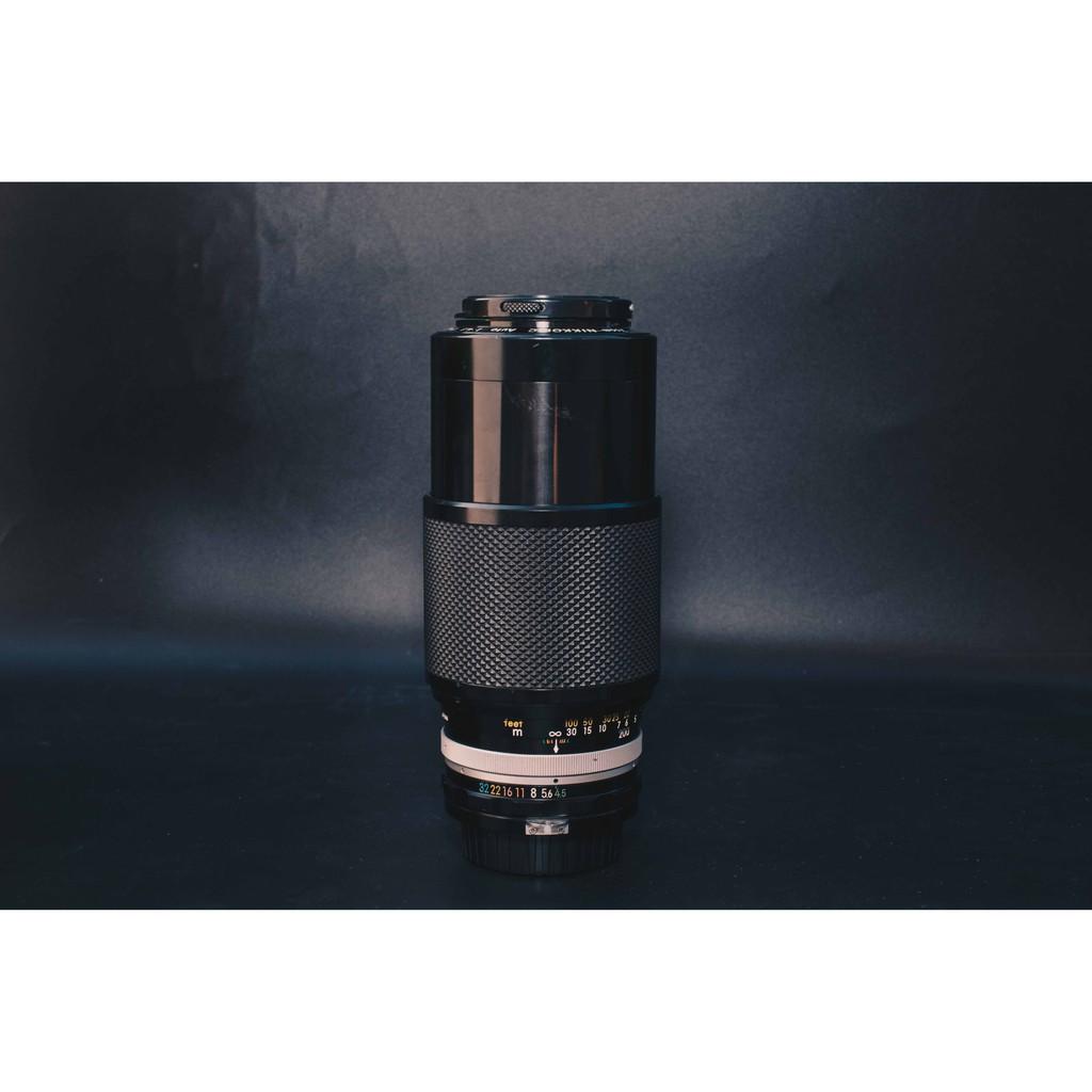Nikon Nikkor.c 80-200mm f4.5 恆定光圈望遠變焦鏡