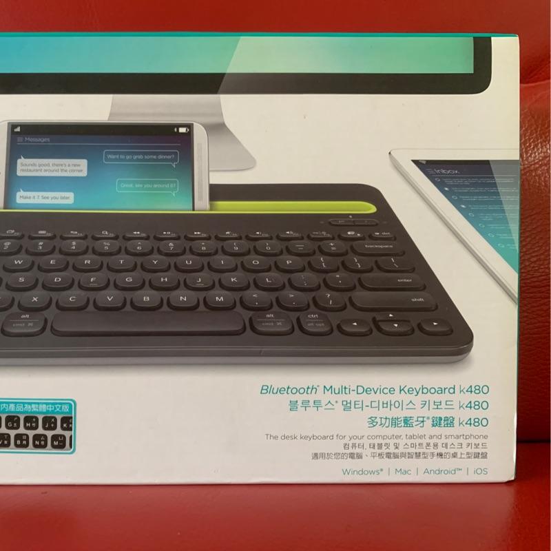 真猛電腦 k480 羅技 多功能藍芽鍵盤