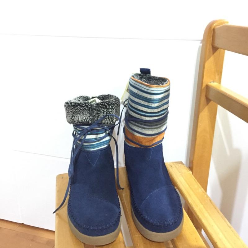 香港購入 Toms內刷毛雪靴(僅試穿)