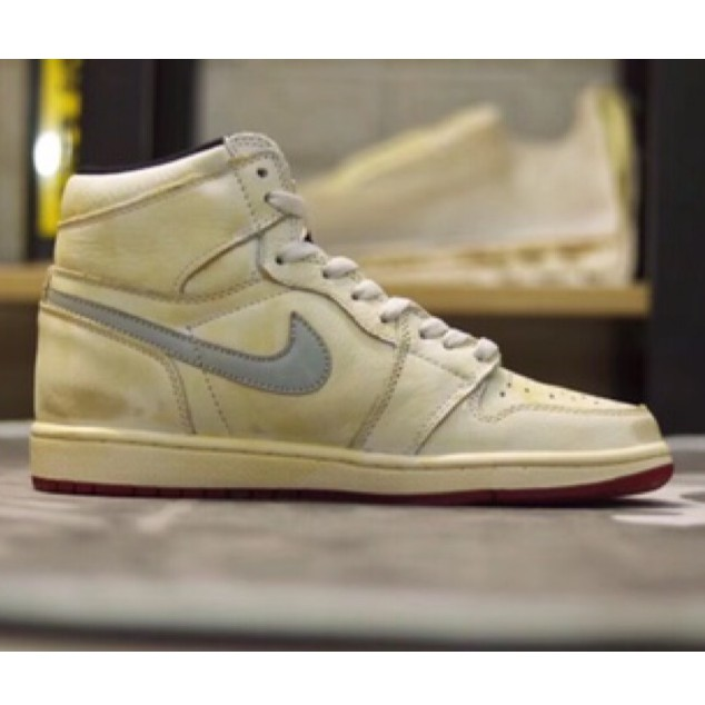 new style 20646 6d229 Nike AJ1 x Nigel sylvester聯名刷舊髒髒