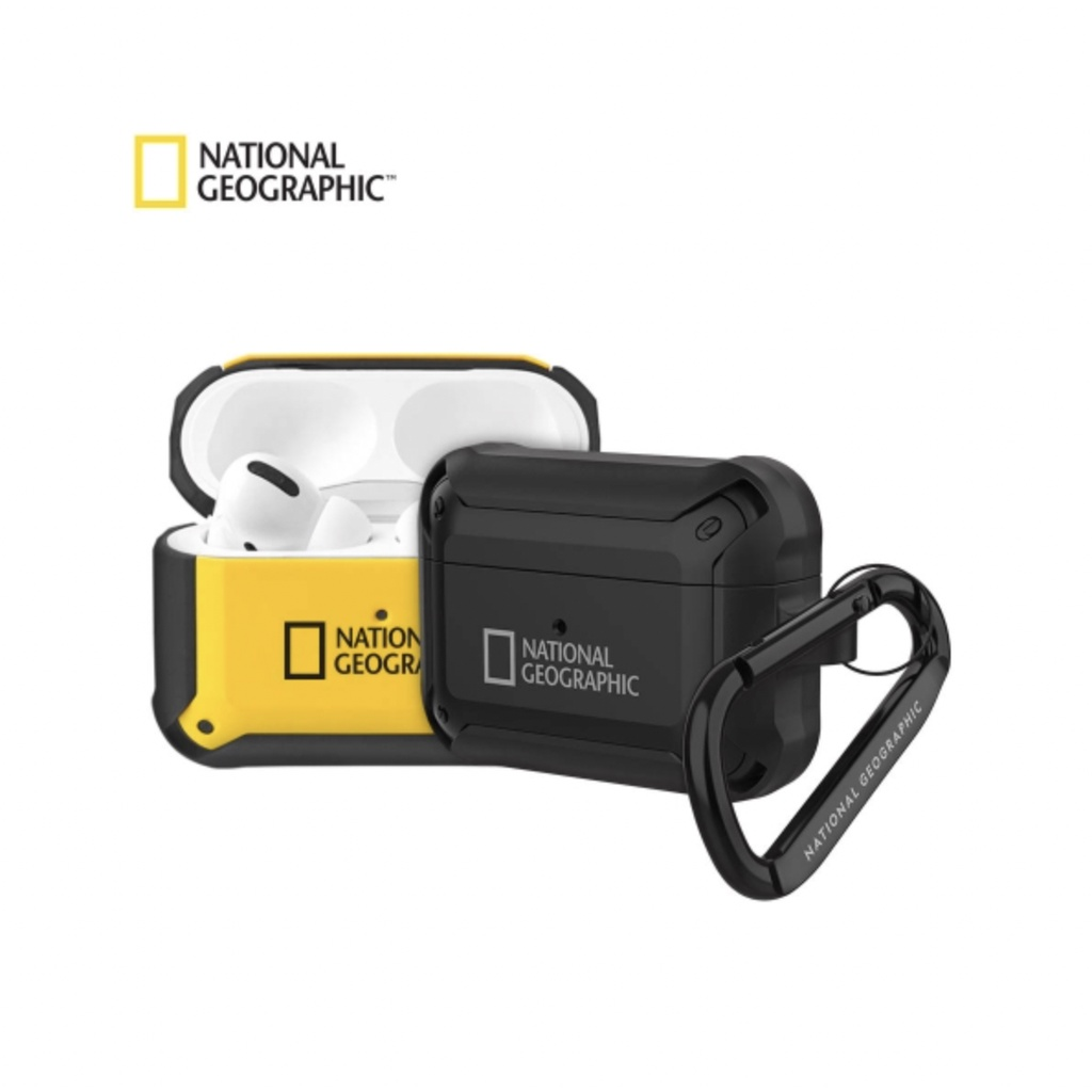 【GSELECT】National Geographic 國家地理頻道 防撞 Airpods Pro 耳機保護套 保護殼