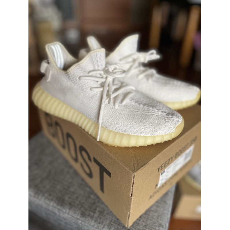 Yeezy boost 350 白 二手 正品