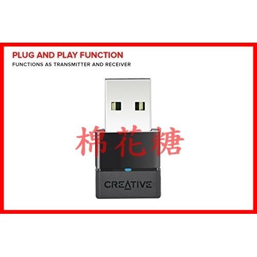 ~棉花糖~ 代購創新 CREATIVE BT-W2 USB Bluetooth藍芽藍牙音訊接收器 W0056