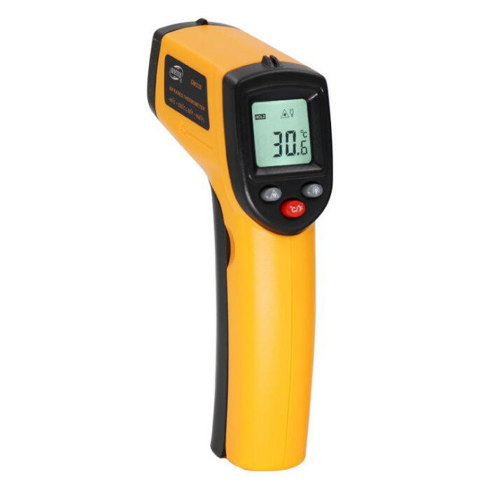 紅外線測溫器GM320溫度計 測溫槍 溫度槍 數位測溫器 油溫水溫冷氣 電子溫度計【DF324】