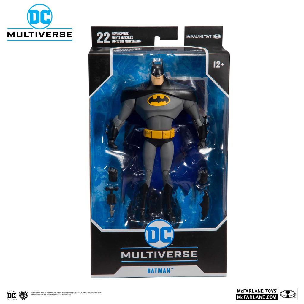全新現貨 麥法蘭 DC Multiverse 蝙蝠俠 BATMAN 動畫版 正義聯盟 超商付款免訂金