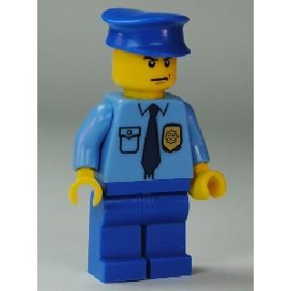 樂高人偶王 LEGO 經典懷舊/城鎮系列#10675 cop054 警察