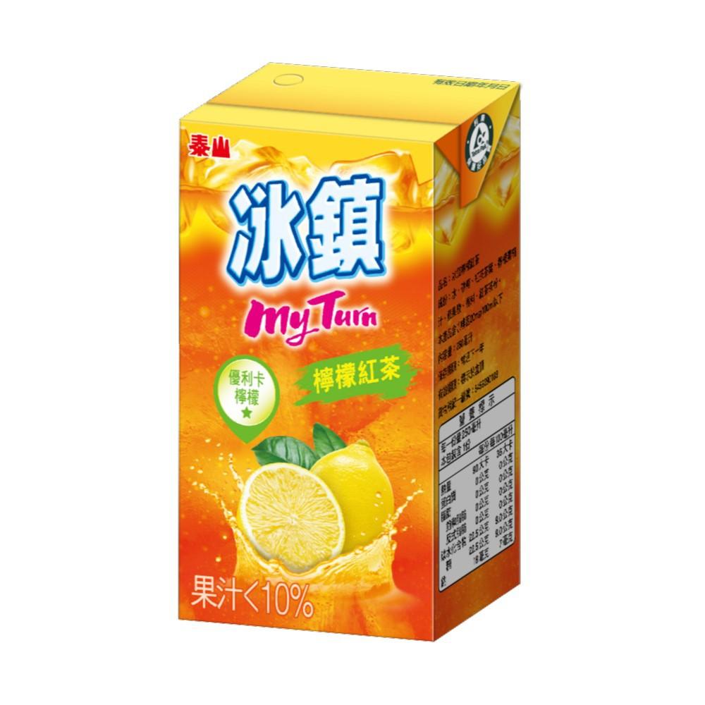 泰山冰鎮紅茶250mlx6包/組  【大潤發】
