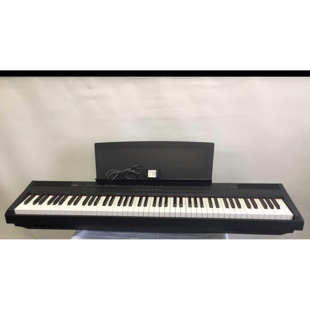 樂器之家 YAMAHA P105 88鍵 電鋼琴 黑 可另購琴架