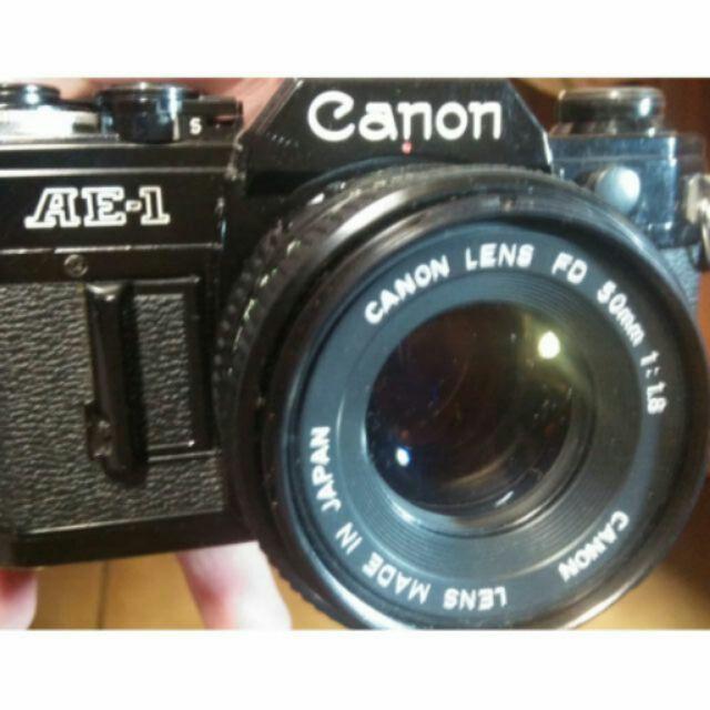 底片 經典 黑機 Canon ae1 50mm f1.8 鏡頭 fd