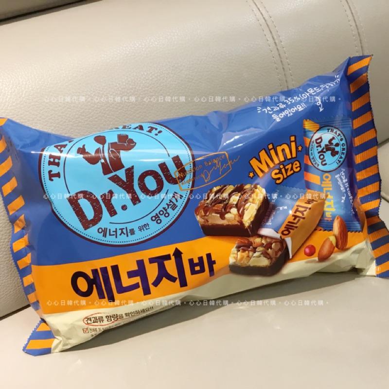 【ToyToy】🇰🇷韓國直送✈️ Dr.You Mini巧克力低卡堅果能量棒/代餐