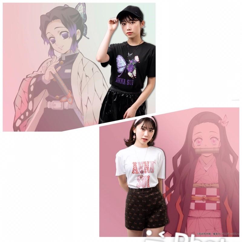預購 日本 jilluart  方巾 Anna sui 鬼滅之刃 聯名商品 皮夾 上衣 髮飾 連身裙 項鍊 雨傘 褲襪