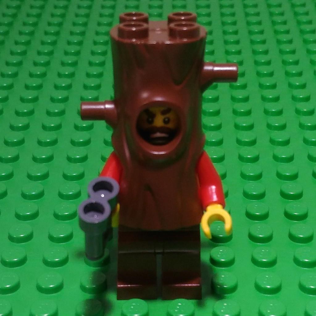 樂高城市警察系列60174-偽裝成樹木的小偷