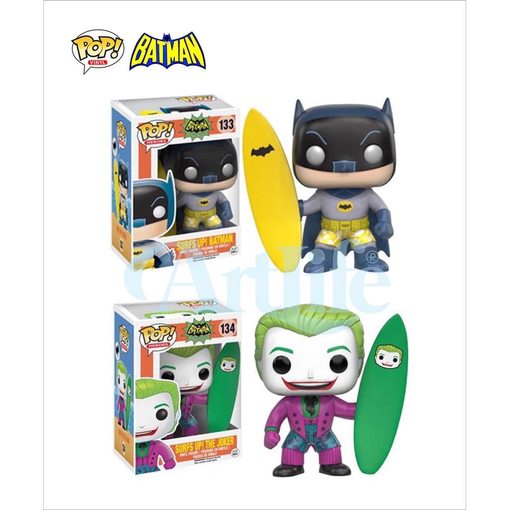 Artlife ㊁ FUNKO POP DC Surfs Up Batman TV 1966 蝙蝠俠 小丑 衝浪限定