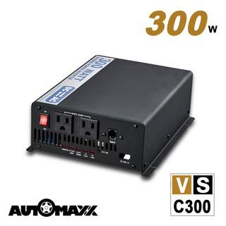 AUTOMAXX【原廠直送】 VSC300 12V 300W 多功能正弦波電源轉換器 新北市
