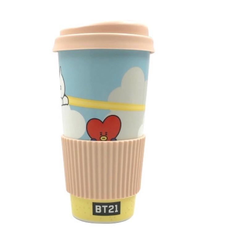 【BT21】RPC陶瓷杯《泡泡生活》宇宙大明星 隨行杯 水瓶 BTS 韓國 正版