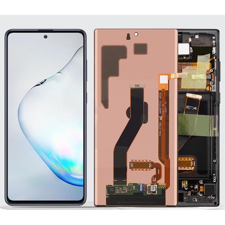 適用三星Note10Plus螢幕總成N975曲面AMOLED顯示幕Note10+液晶屏