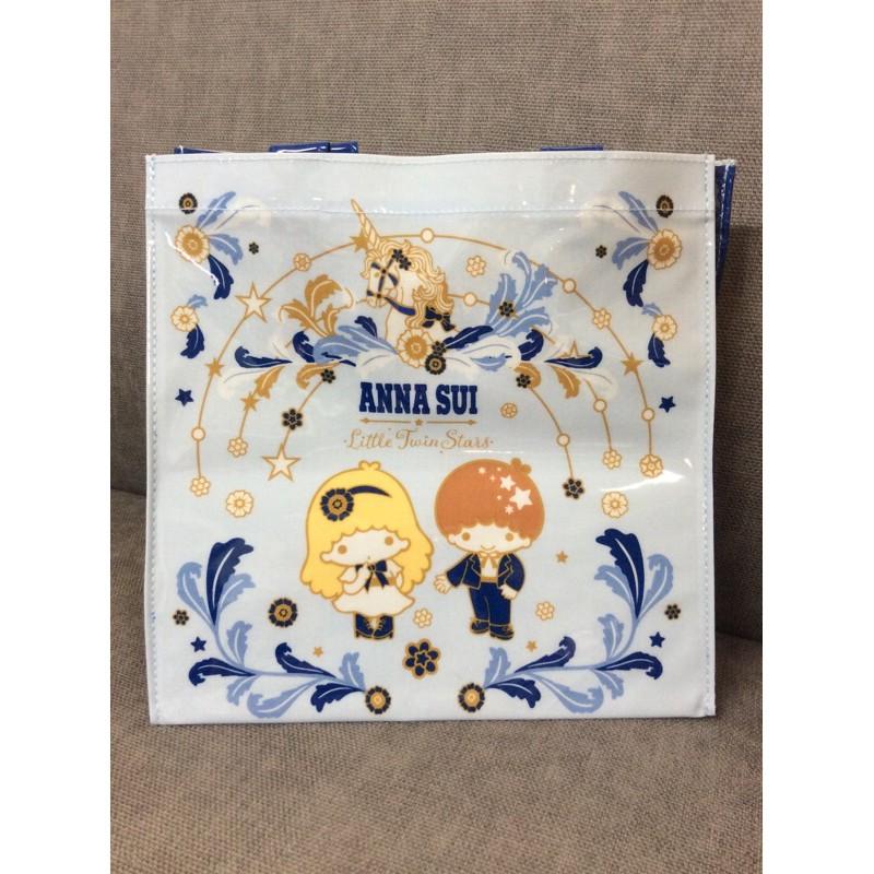 🌷荳荳尋寶屋🌷7-11 ANNA SUI 三麗鷗時尚托特手提袋(雙子星款)