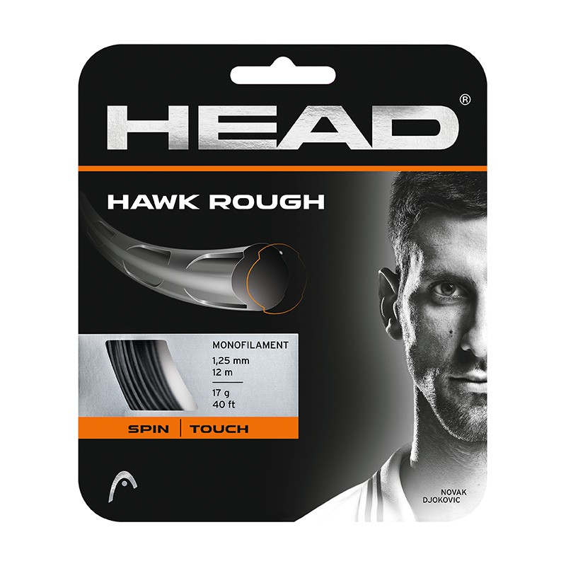 HEAD Hawk Rough 網球線 硬線 12m(單包裝) 281126