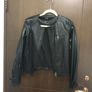 AIX  ARMANI EXCHANGE 皮衣 台北市