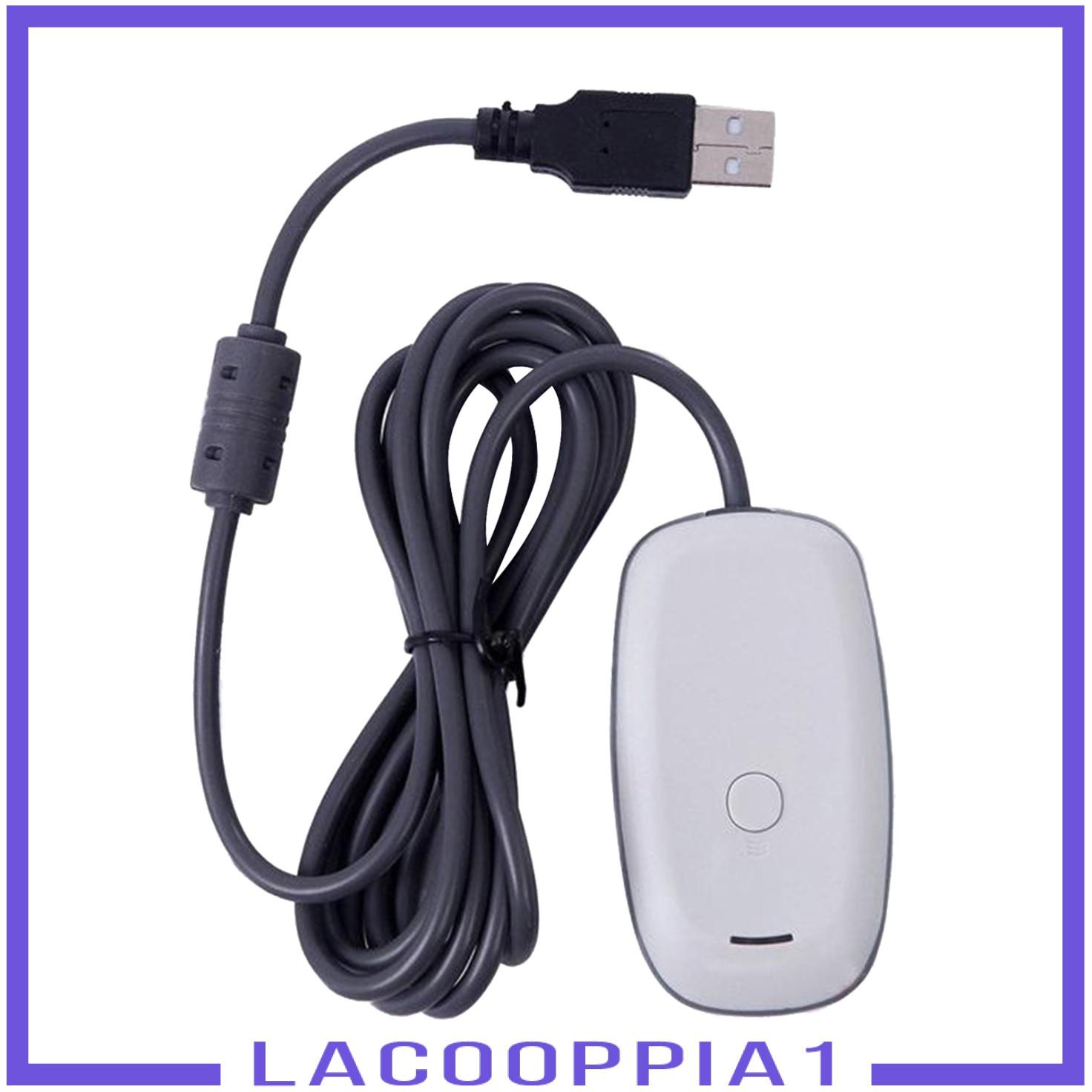[LACOOPPIA1]適用於Xbox 360的無線遊戲手柄PC USB接收器