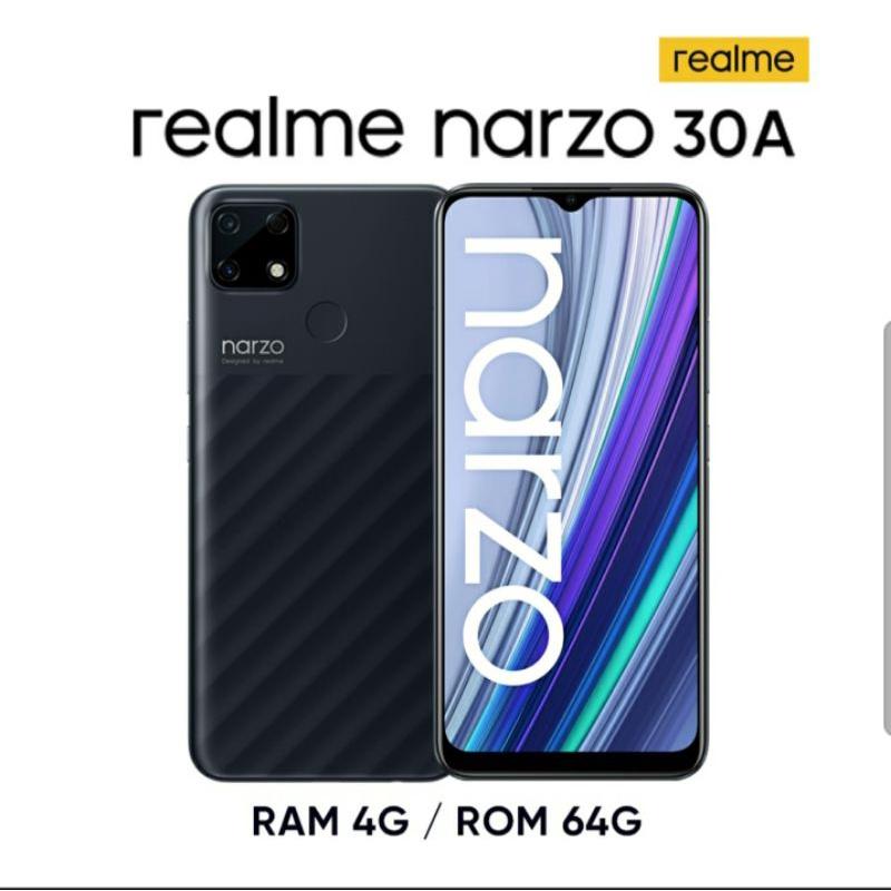 全新未拆 realme narzo 30A G85超大電量遊戲機 (4GB/64GB)