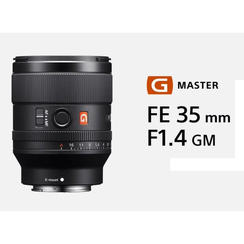 SONY SEL35F14GM 【宇利攝影器材】 FE 35mm F1.4 G Master 標準定焦鏡頭 新力公司貨