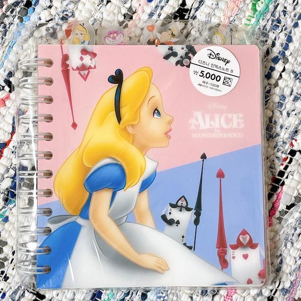(預購)❤韓國代購❤ 韓國 大創 Daiso 迪士尼 愛麗絲夢遊仙境 玩具總動員 線圈筆記本 超多頁