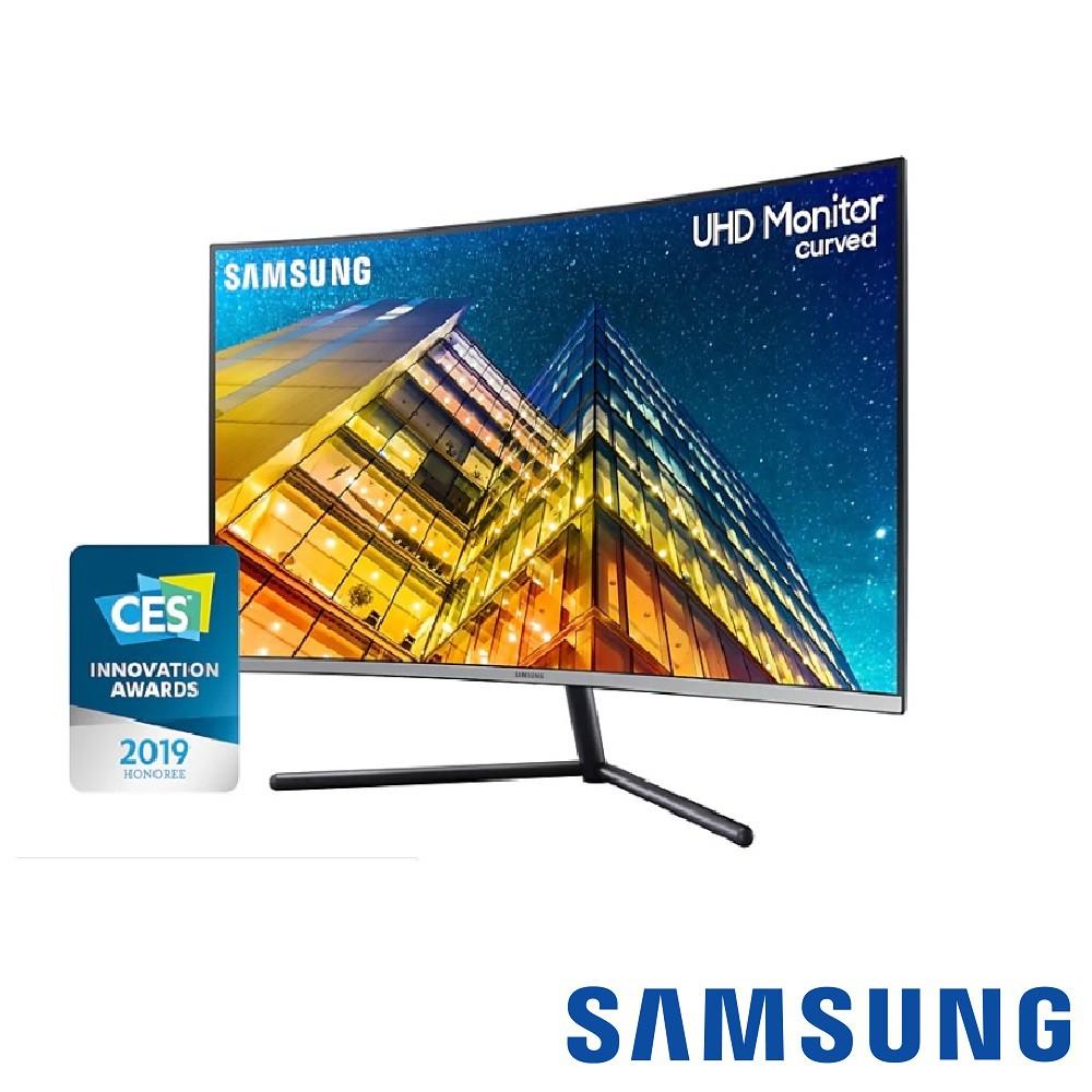 Samsung U32R590CWC 32吋 4K量子點曲面螢幕【GAME休閒館】