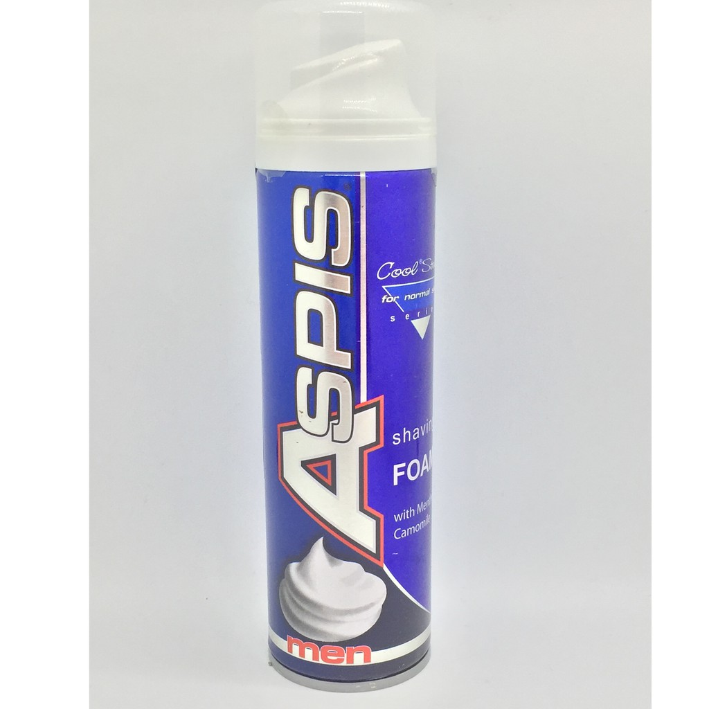 ASPIS 就是美 刮鬍泡 酷涼薄荷 正常膚質適用 200ml