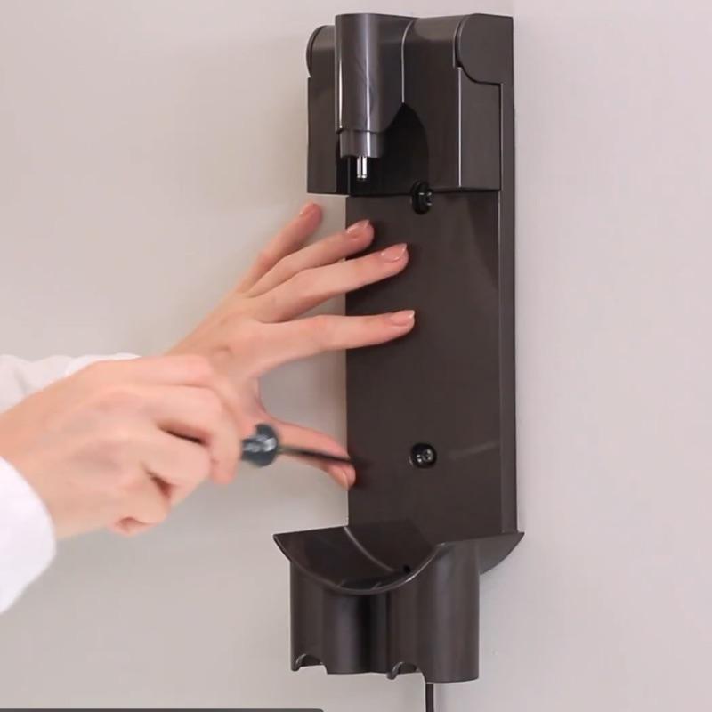 適用dyson戴森吸塵器dyson v8專用配件掛壁座充電底座 dyson V7 dysonV8 V6收納支架充電座