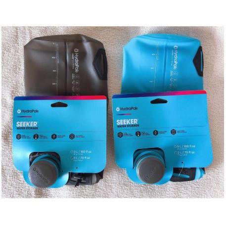 【現貨】Hydrapak Seeker 2L / 3L / 4L輕量水袋(*可加購Katadyn Befree搭配使用)