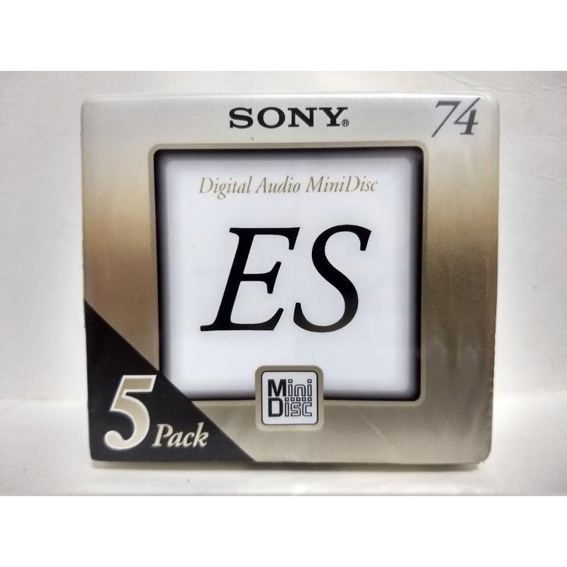 SONY ES MD (Mini Disc) 片 (日本製) 5片裝