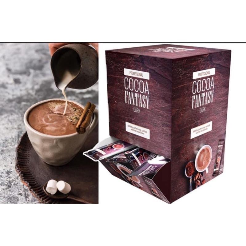 Jc德國代購~現貨75包散賣瑞士cocoa fantasy 頂級巧克力粉-25g/包