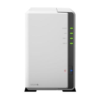 代購精品Synology群暉DS220J網路存儲DS218J升級版家用私有雲儲存2盤比特nas服務器 桃園市