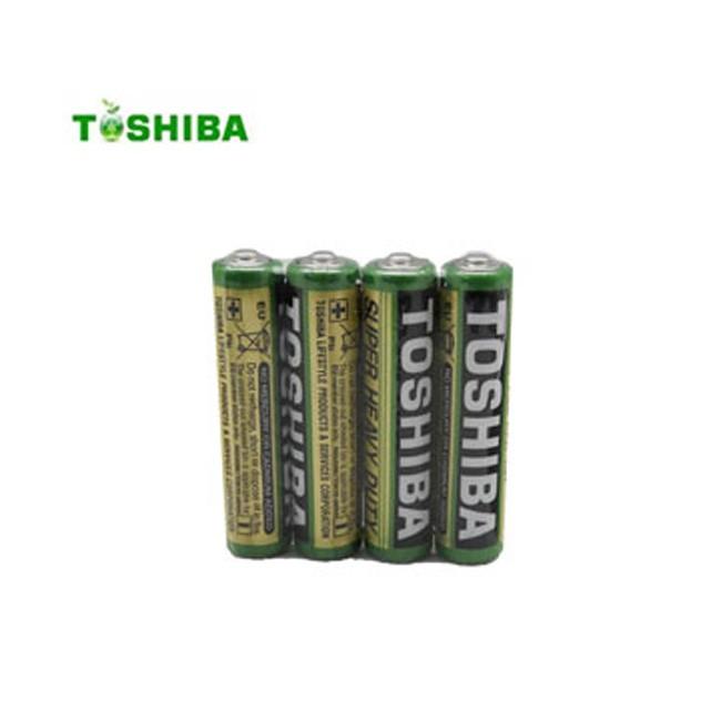 東芝 環保碳鋅電池4號4入