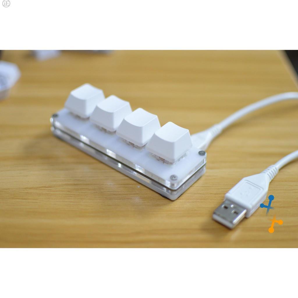 4鍵 機械鍵盤小鍵盤 osu鍵盤 音遊鍵盤