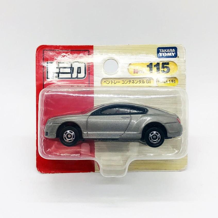 【現貨】TOMICA 日版 多美 NO.115 BENTLEY CONTINENTAL GT 賓利 吊卡 絕版