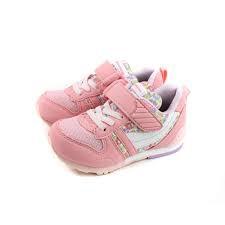 憲憲之家MOONSTAR (中童) 慢跑鞋 HI系列 機能款 運動鞋 魔鬼氈 MSC2121S28 粉花 日本月星