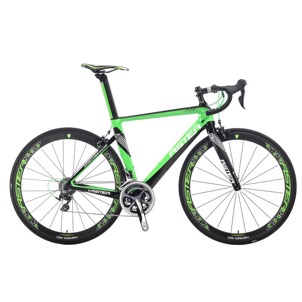 ASTER 亞仕大 F35 (綠黑 )全碳纖維成車 特價優惠中(限自取)-【台中-大明自行車】