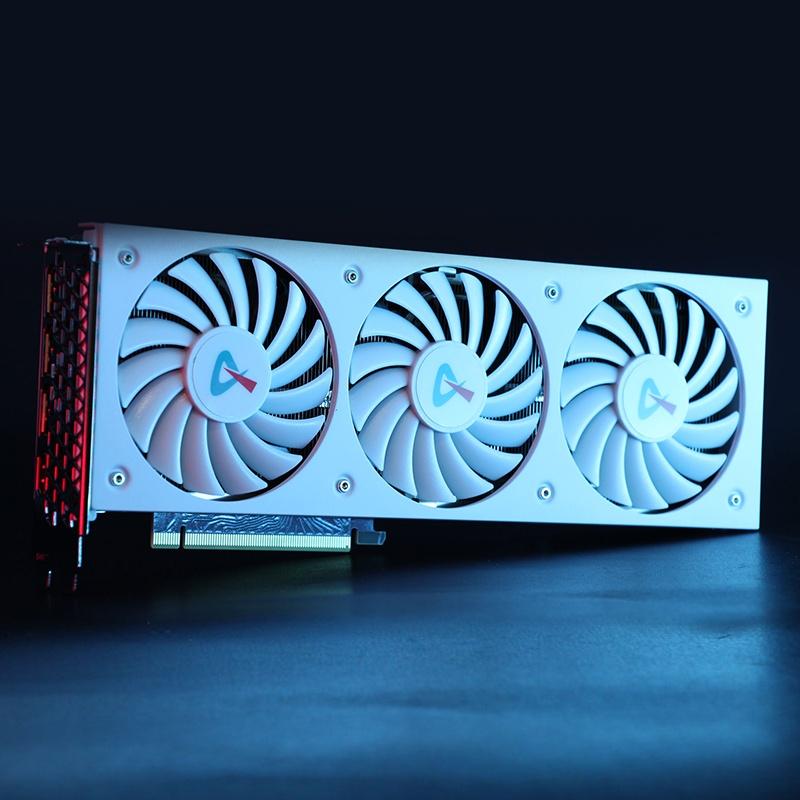 散熱風扇【電競叛客RTX3090/3080ti/3080顯卡 台式機電腦運算獨立顯卡nvidia