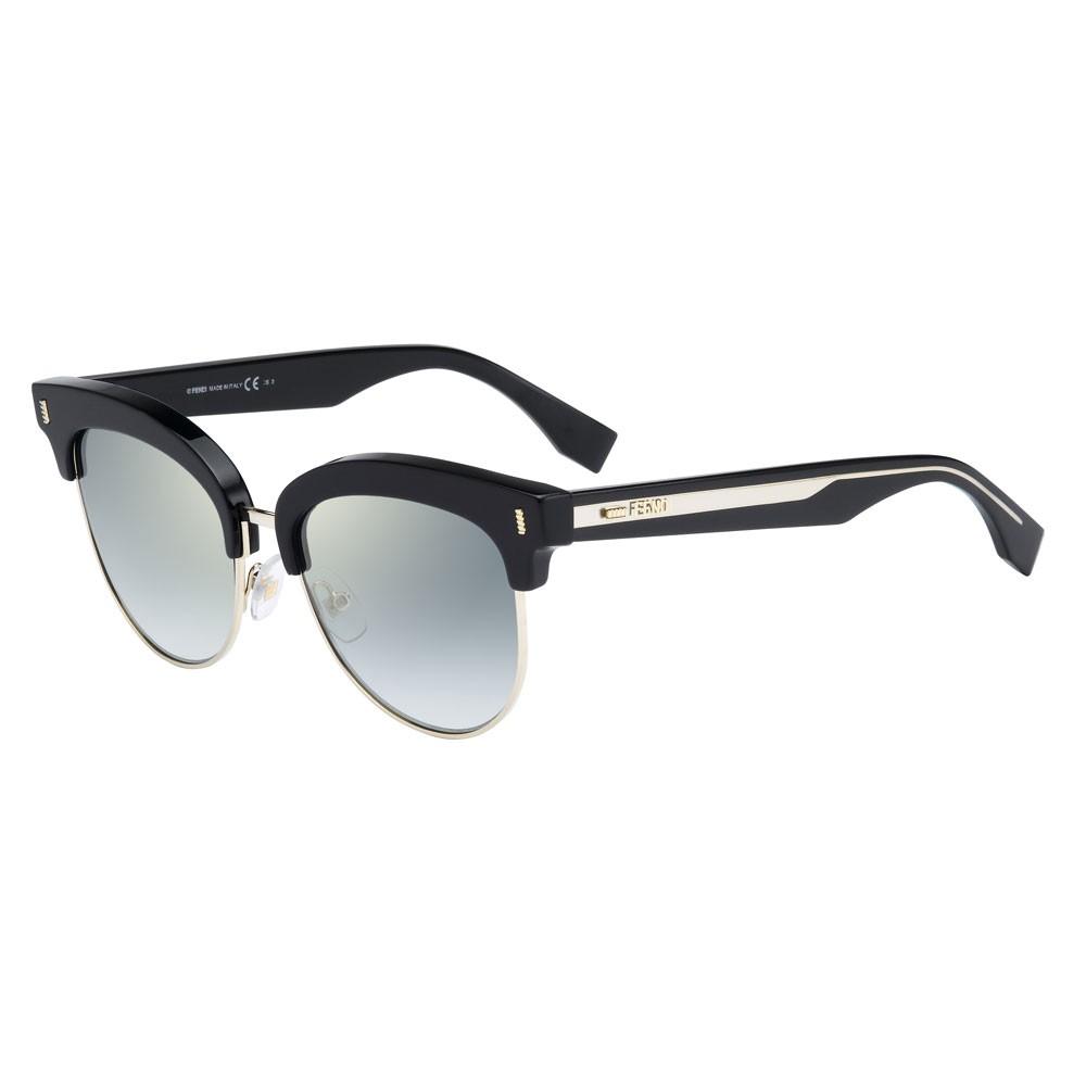 FDE FF 0154/S VJG 黑色鏡框灰色鏡片太陽眼鏡 廠商直送 現貨