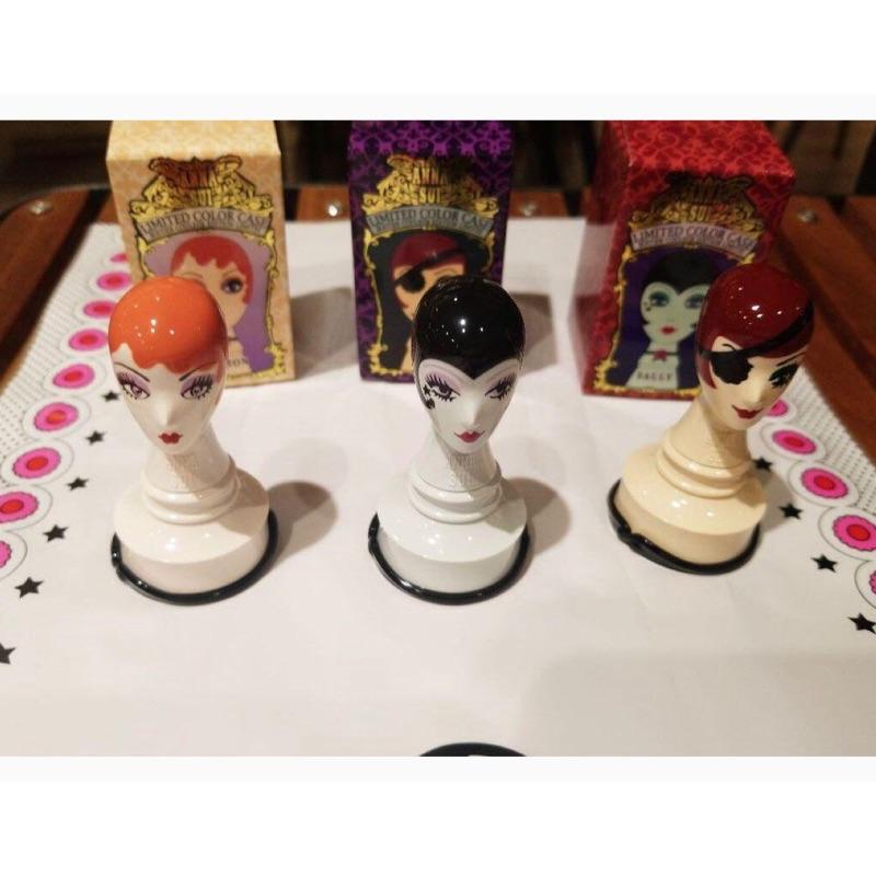 白鶴屋 日本連線代購Anna sui安娜蘇 一套20週年限定 眼影唇膏 外殼 外盒 盒子,日本製 限量發售 真品 西洋棋