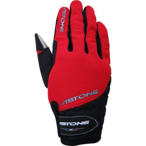 ASTONE 四季觸控手套 紅 可觸控 反光設計 防滑 防摔 透氣 手套《比帽王》